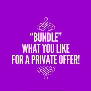 🎉BUNDLE!!! DISCOUNTED SHIPPING/PRIVATE OFFERS!!🎉